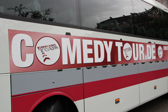 Comedy Tour Bus